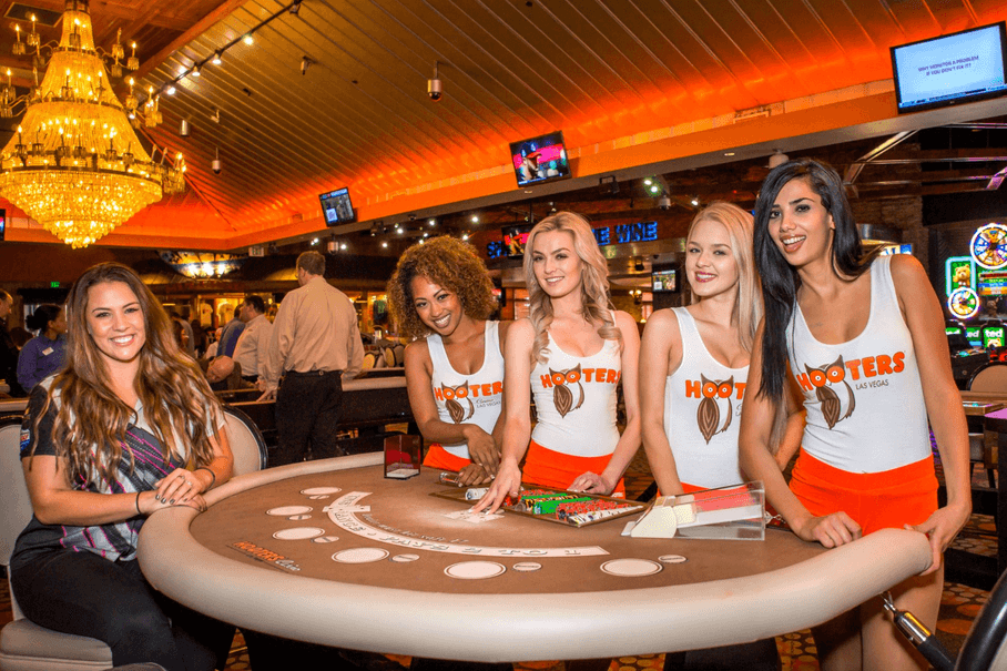 Hooters Casino in Las Vegas